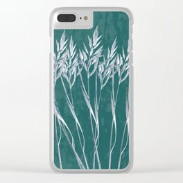 Grass Clear iPhone Case
