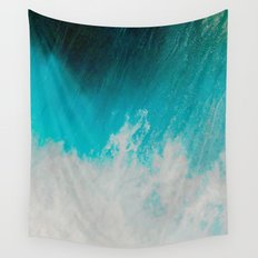 Abstract ocean Wall Tapestry