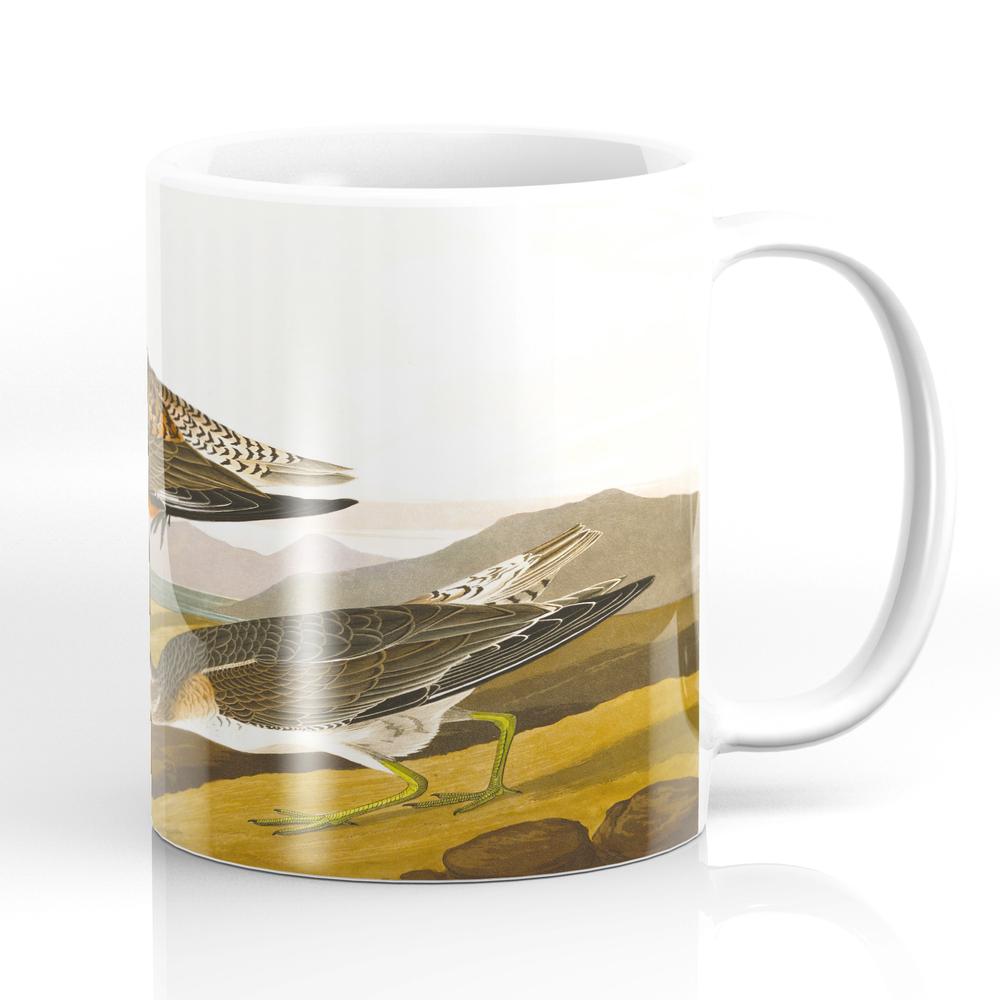 Red-Breasted Sandpiper Bird Mug by enshape (MUG6426465) photo