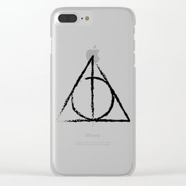Master of Death Clear iPhone Case