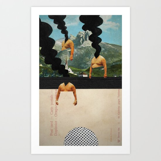 The Noon Guns (Back) Art Print
