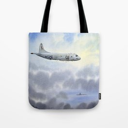 P-3 Orion Aircraft Tote Bag