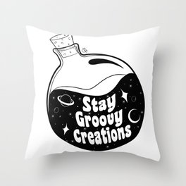 Stay Groovy Creations Throw Pillow