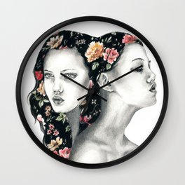 Floral Lindsey W. Wall Clock