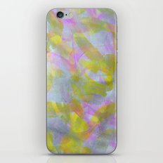 Abstract in Shimmery Pastel Colors iPhone & iPod Skin
