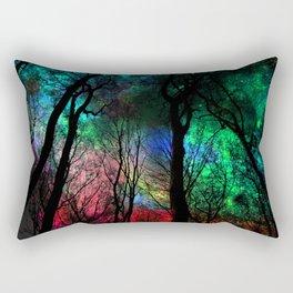 blissful forest Rectangular Pillow