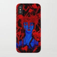 Blue Warrior iPhone X Slim Case