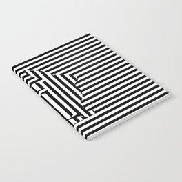 Rabbit on Stripes Notebook