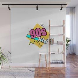 90 s kid retro fun  geometric Wall Mural