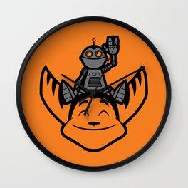 Ratchet & Clank Wall Clock