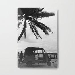 Tropical TucTuc Metal Print