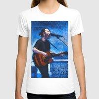 radiohead T-shirts featuring Radiohead / Thom Yorke by JR van Kampen