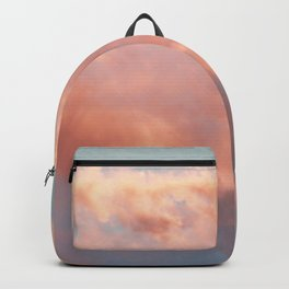 Pink and Blue Sky Over Newport Rhode Island Backpack
