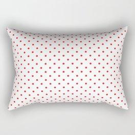 Red dots Rectangular Pillow