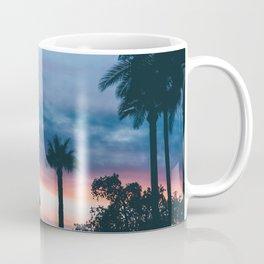Beautiful Palm Tree Sunset Coffee Mug