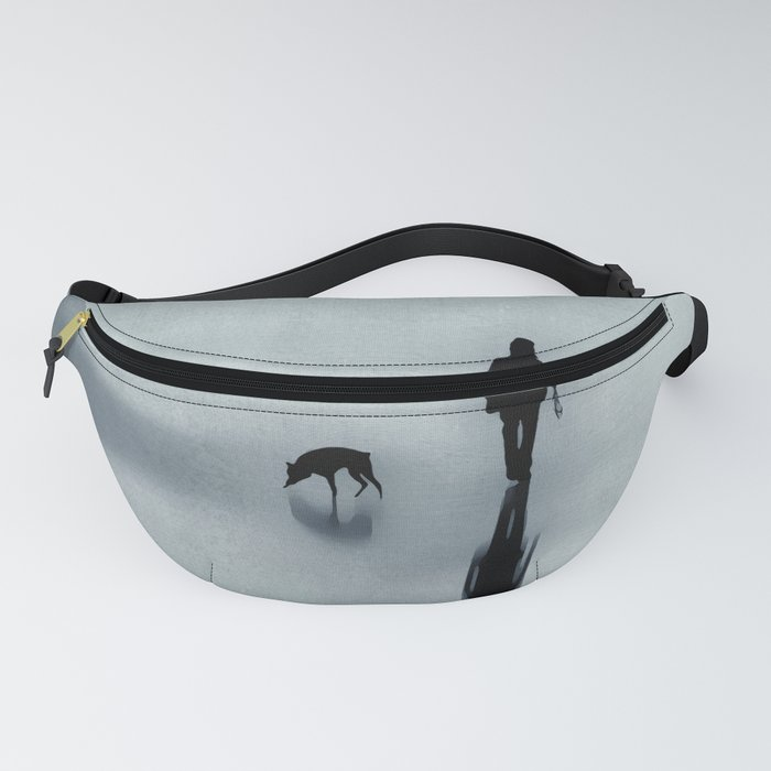 One man and his dog Fanny Pack