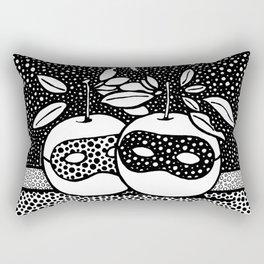 The married priest. René Magritte. 1961 Rectangular Pillow