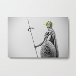 Warrior. Metal Print