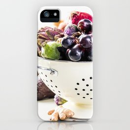 healthy food iPhone Case