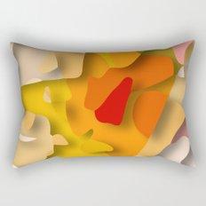 red spot Rectangular Pillow