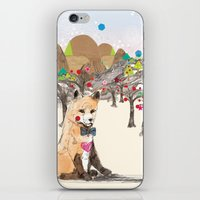 merry christmas iPhone & iPod Skins featuring MERRY CHRISTMAS!!!!! by Jo Cheung Illustration