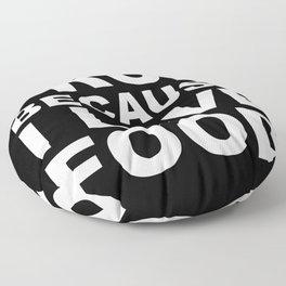 I LOVE FOOD Floor Pillow