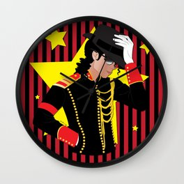 The Gloved One Wall Clock
