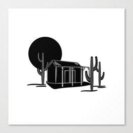 Desert hideout Canvas Print