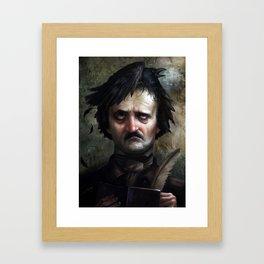 """""""The Raven"""" inspiration Framed Art Print"""