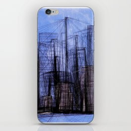 Invisible City #01 iPhone Skin