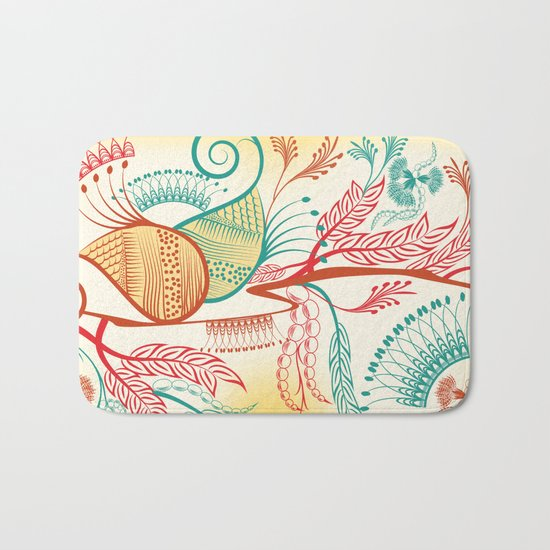 Patterns Bath Mat