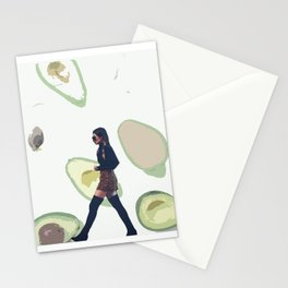 We Wore Avocados Stationery Cards