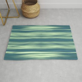 Abstraction Serenity in Afternoon at Sea Rug