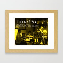TIME OUT, MARIA MARIA (2) - AUSTIN, TX Framed Art Print