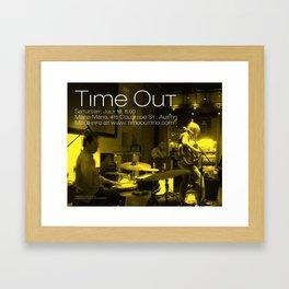 TIME OUT, MARIA MARIA (2) - AUSTIN, TX Framed Art Print