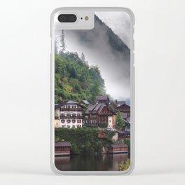 Dreamy Austrian village: Hallstatt Clear iPhone Case