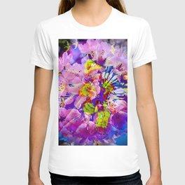 flowers magic T-shirt