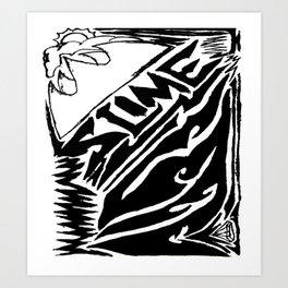 Slime Krown Art Print