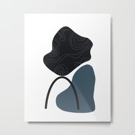 Simple shapes Metal Print