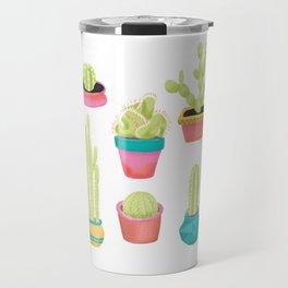 Cacti Family Portrait Travel Mug