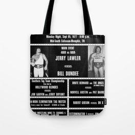 #6-B Memphis Wrestling Window Card Tote Bag