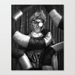 The Spaceman Canvas Print
