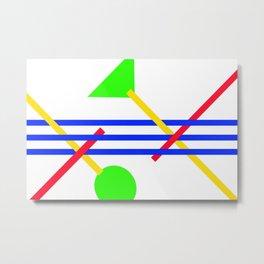 Connectivity 1 ... Metal Print