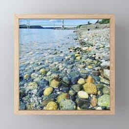 Tacoma Narrows Bridge Framed Mini Art Print