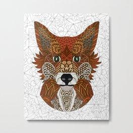 New Fox Metal Print