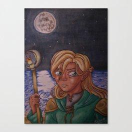 Moon Mage Canvas Print