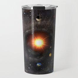 Hexagonal cosmic view Travel Mug