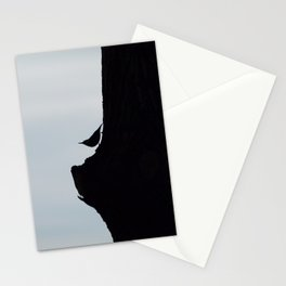 Silhouette of a Bird Stationery Cards
