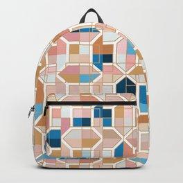 Mediterranean Geometric Shapes I. Backpack