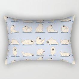 Baby Seal Yoga Rectangular Pillow